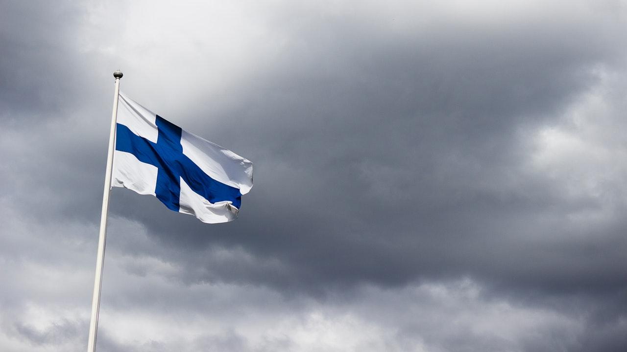 finland vlag naar ek 2020