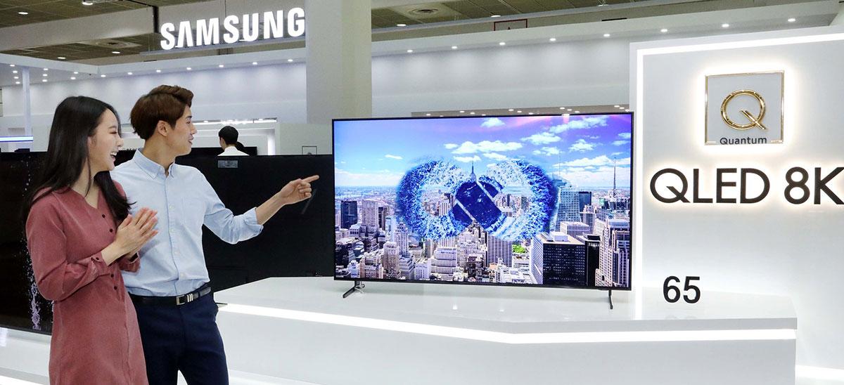 nieuwe tv kopen oled samsung EK 2020