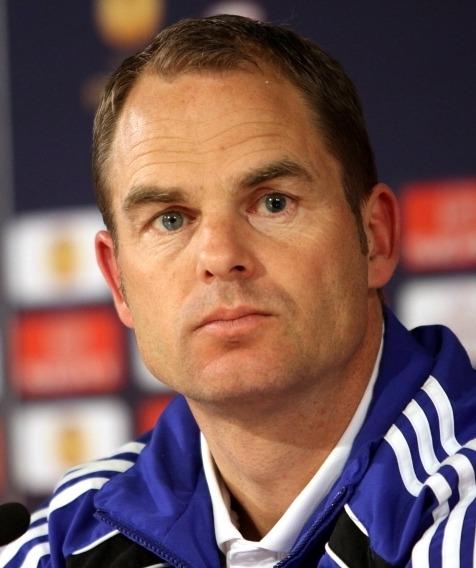 Frank de Boer bondscoach nederlands elftal