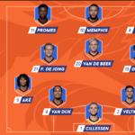 opstelling nederlands elftal italie 2020