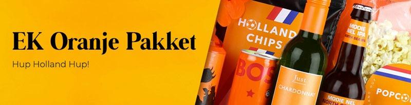 EK 2021 oranje pakket