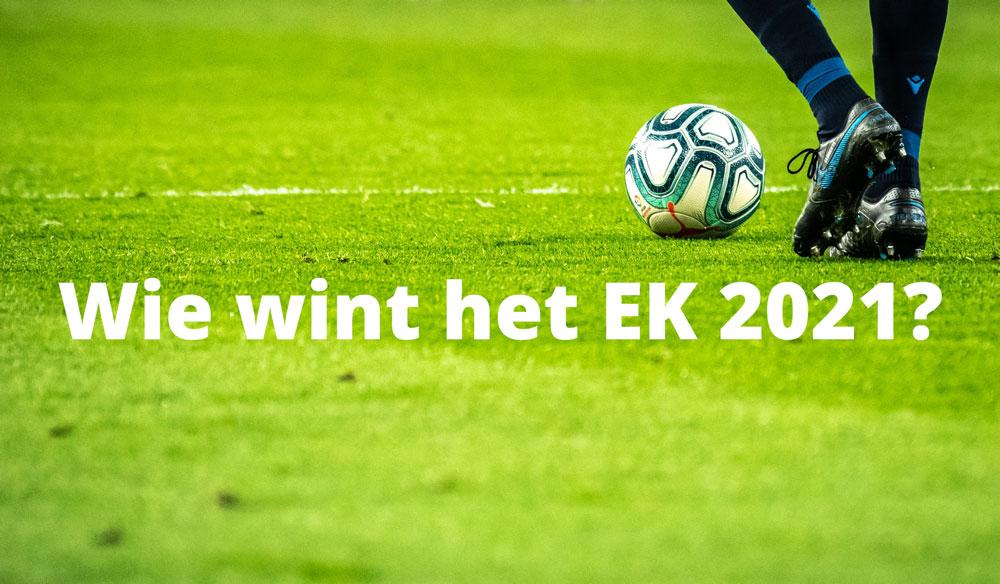 Wie wint het EK 2021 voetbal