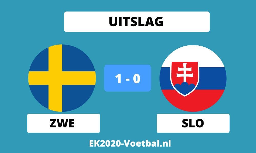 zweden wint en gaat naar achtste finales ek 2021