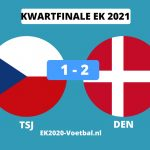 denemarken naar halve finale ek voetbal 2021